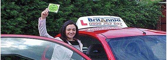 Britannia Female Driving Instructor